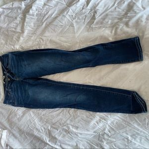 Levi's Super Skinny Dark Jeans